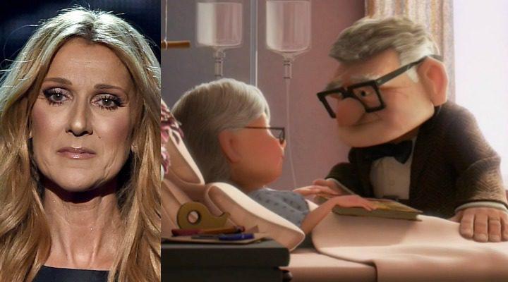 Céline Dion y Up de Pixar