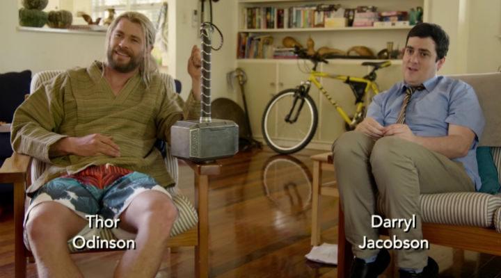 Thor y Darryl