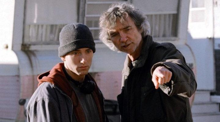 Curtis Hanson en el rodaje de '8 Millas'