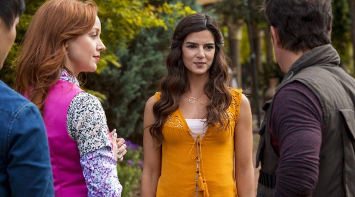 Clara Lago en 'The Librarians'