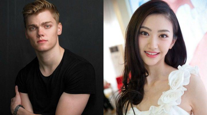 Levi Meaden y Jing Tian