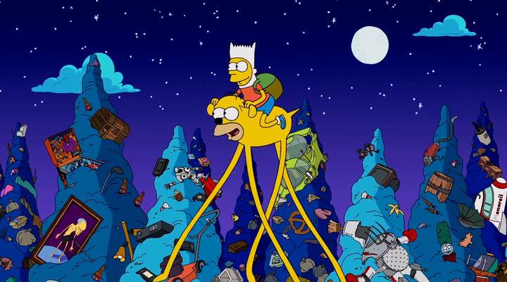Los Simpson Hora de aventuras