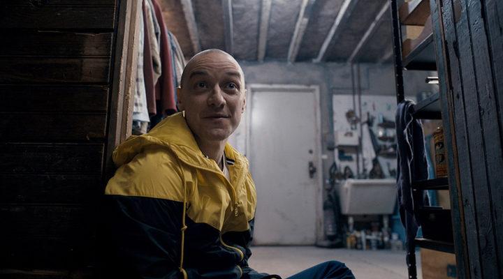 James McAvoy en 'Múltiple' de Shyamalan