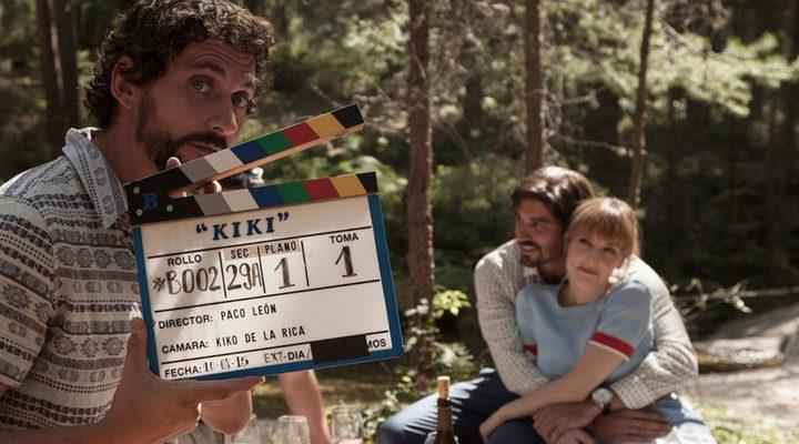 Paco León dirigiendo 'Kiki, el amor se hace'
