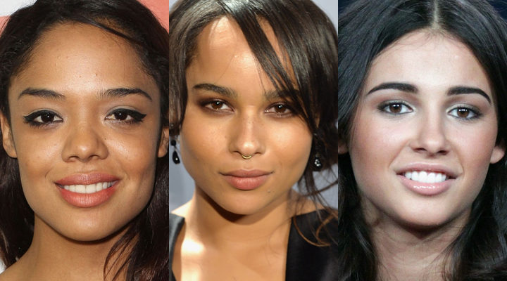 Tessa Thompson, Zoe Kravitz y Naomi Scott