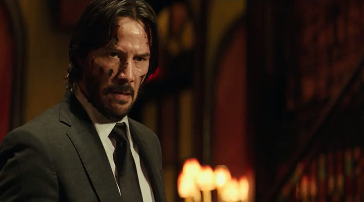 Keanu Reeves en 'John Wick: Pacto de sangre'