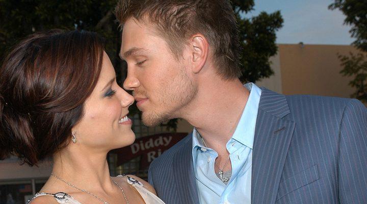 Chad Michael Murray y Sophia Bush durante su noviazgo