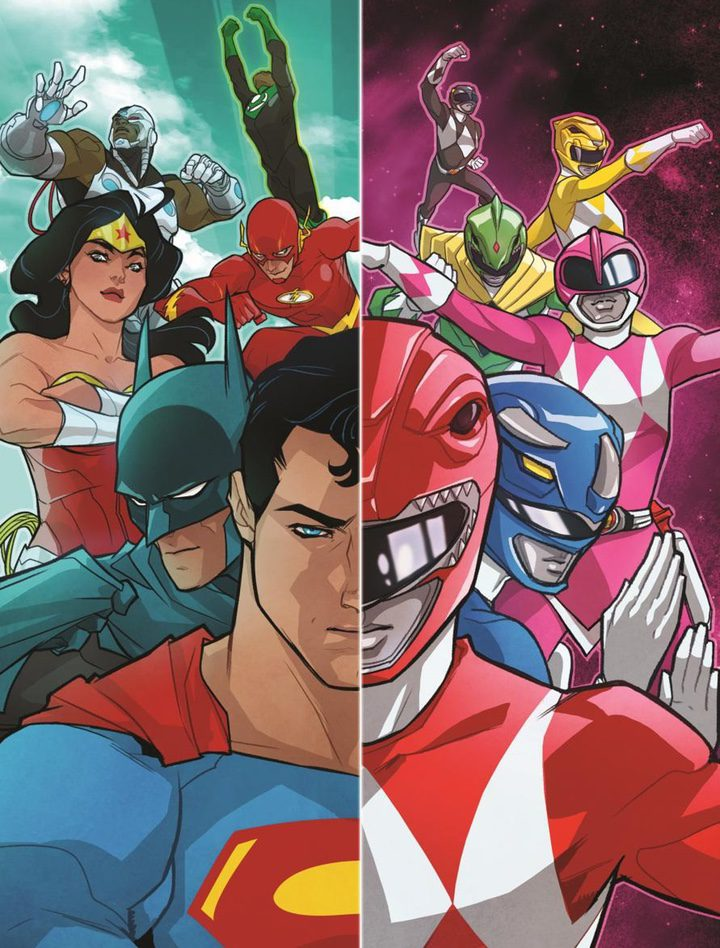 'Justice League / Mighty Morphin Power Rangers'