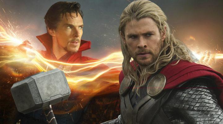 Doctor Extraño y Thor