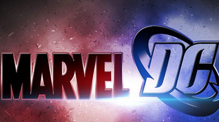 Logos de Marvel y DC