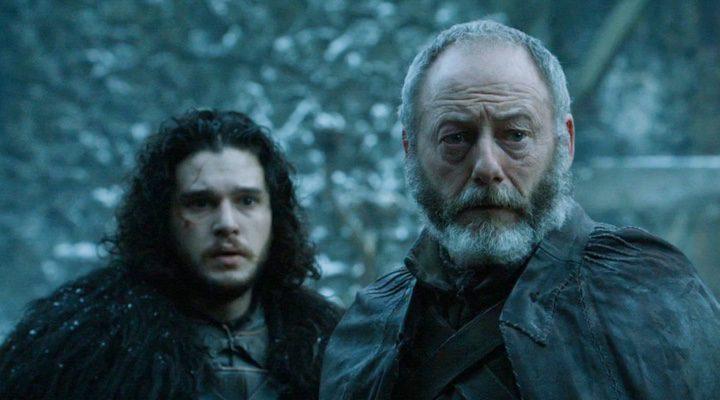 Ser Davos y Jon Nieve