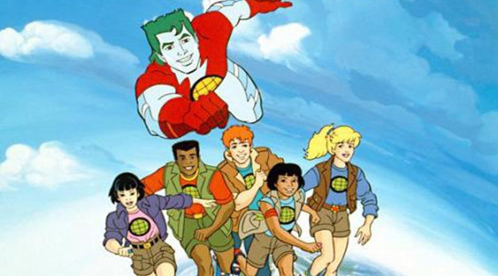 'Capitán Planeta y los planetarios'