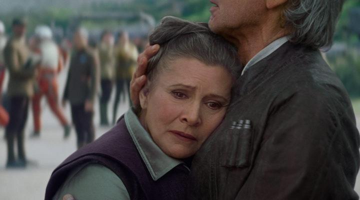 Leia en 'Star Wars: El despertar de la Fuerza'