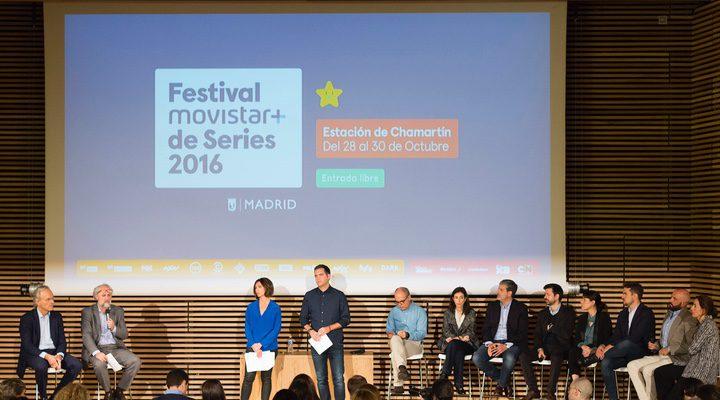 Presentación Festival Movistar + de Series