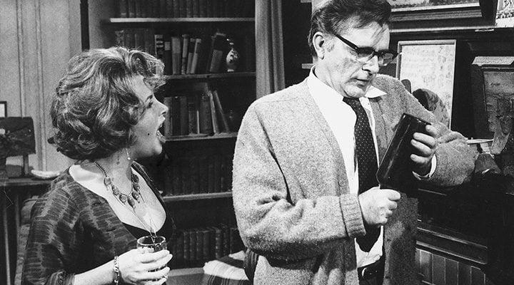 Elizabeth Taylor y Richard Burton en '¿Quién teme a Virginia Woolf?'