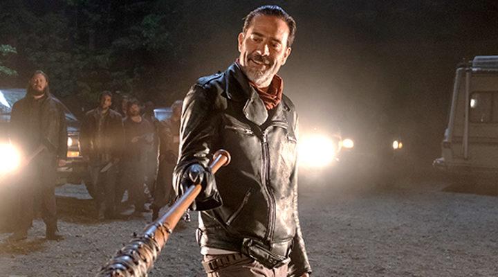 Negan en la septima temporada de 'The walking Dead'