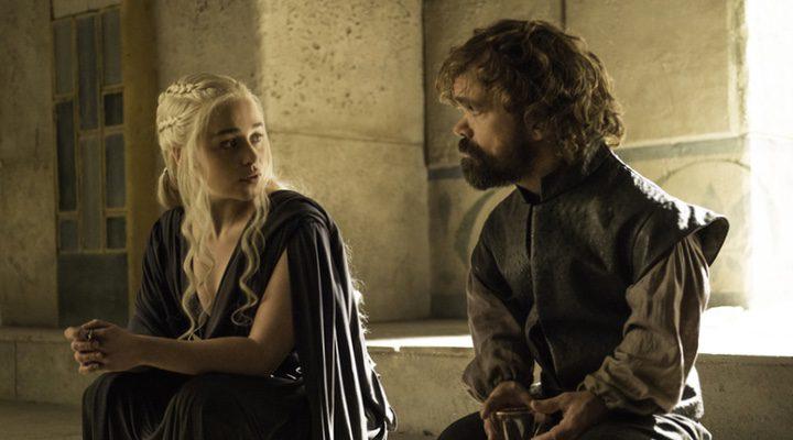 Daenerys y Tyrion