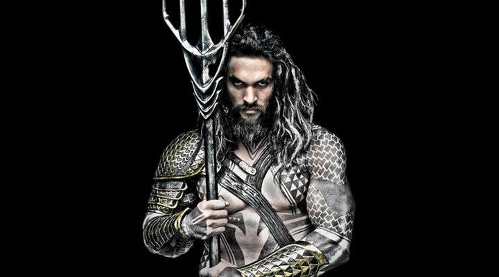 Jason Momoa como 'Aquaman'