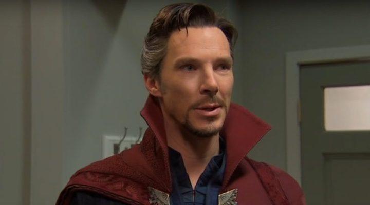 Benedict Cumberbatch como 'Doctor Strange'