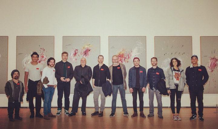 Actores de Juego de Tronos en el Guggenheim