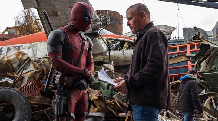 Tim Miller y Ryan Reynolds en 'Deadpool'