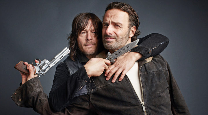 Norman Reedus y Andrew Lincoln
