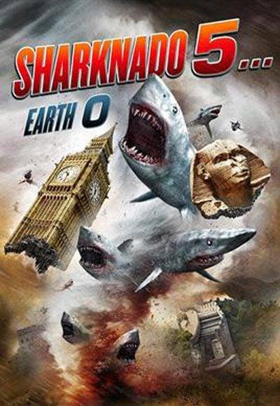 Cartel de 'Sharknado 5'