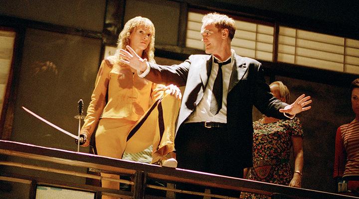 Quentin Tarantino en 'Kill Bill'