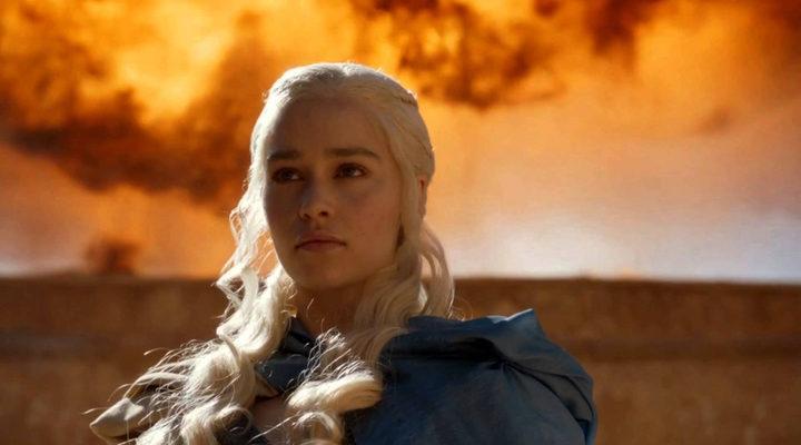 Fotograma de Daenerys en 'Juego de Tronos'