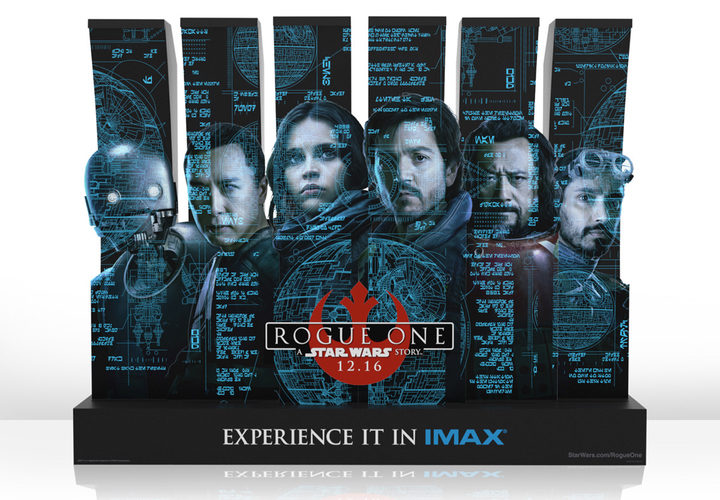 Stand de Imax para 'Rogue One: Una historia de Star Wars'
