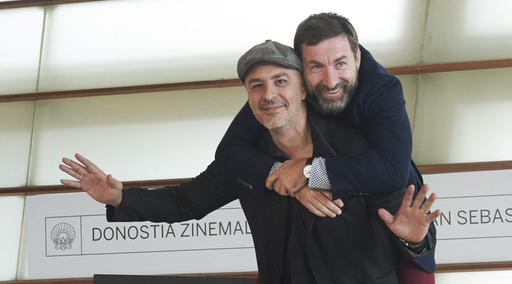 Roberto Álamo y Antonio de la Torre