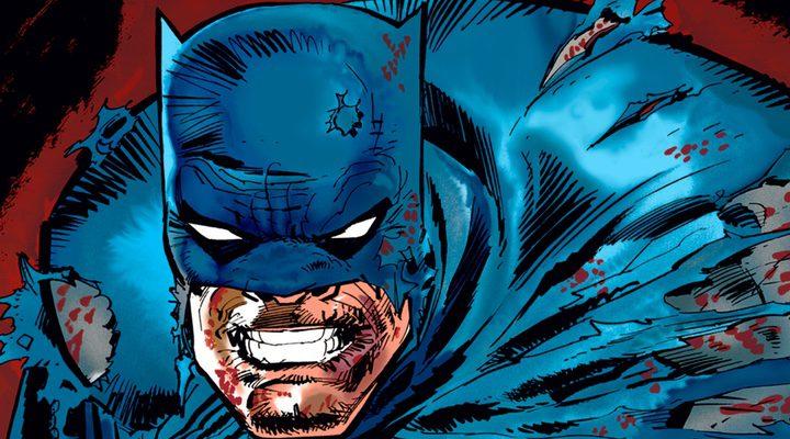 Batman en uno de los cómics de Frank Miller