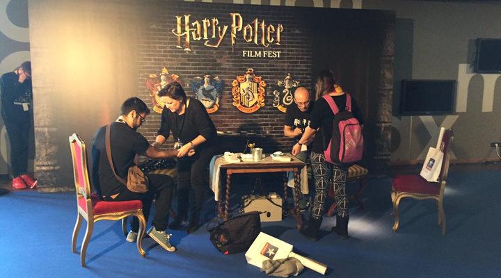 Maraton de Harry Potter en Kinepolis