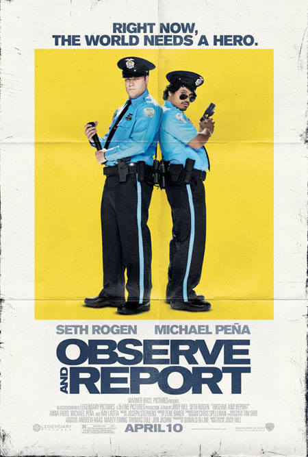 Más carteles de 'Observe and report'