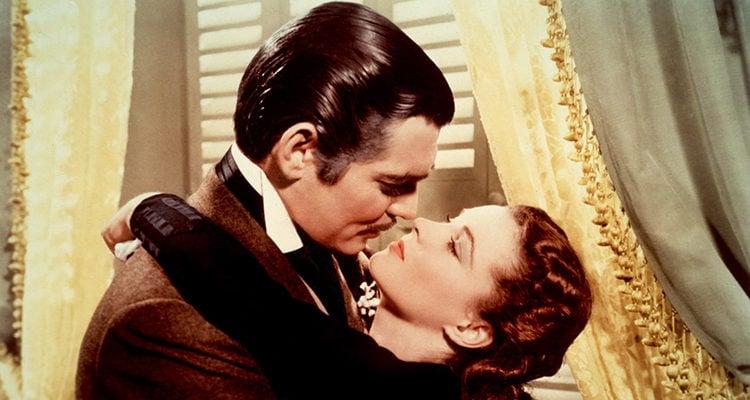 Clark Gable y Vivien Leigh en 'Lo que el viento se llevó'