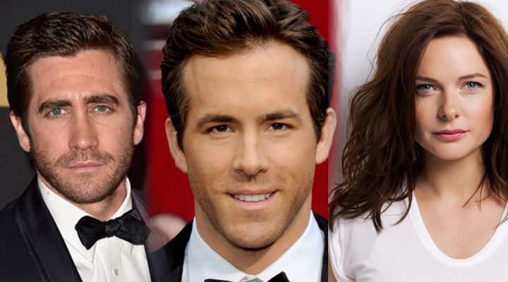 Jake Gyllenhaal, Ryan Reynolds y Rebecca Ferguson