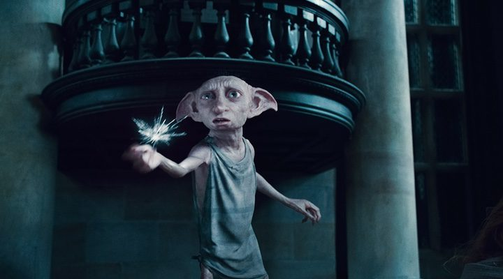 Dobby en 'Harry Potter y las reliquias de la muerte -parte 2'
