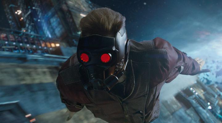 Star Lord, protagonista en Guardianes de la Galaxia