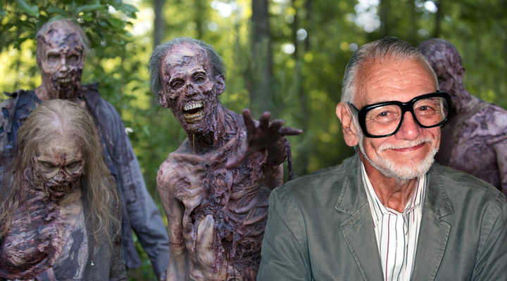 George A. Romero y 'The Walking Dead'