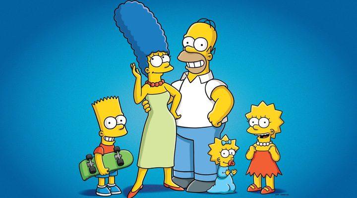 Bart, Marge, Homer, Maggie y Lisa, de 'Los SImpson'