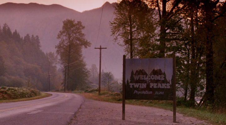 La entrada del pueblo de 'Twin Peaks'