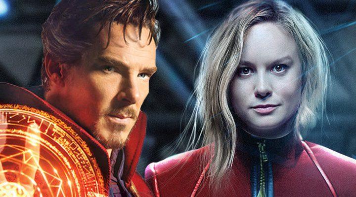 Doctor Strange y Captain Marvel