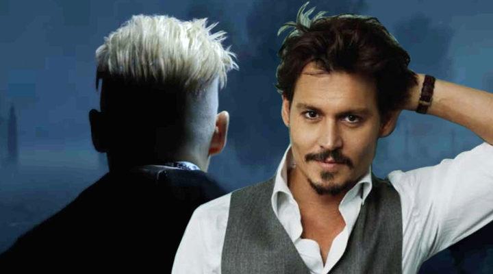 Grindelwald y Johnny Depp