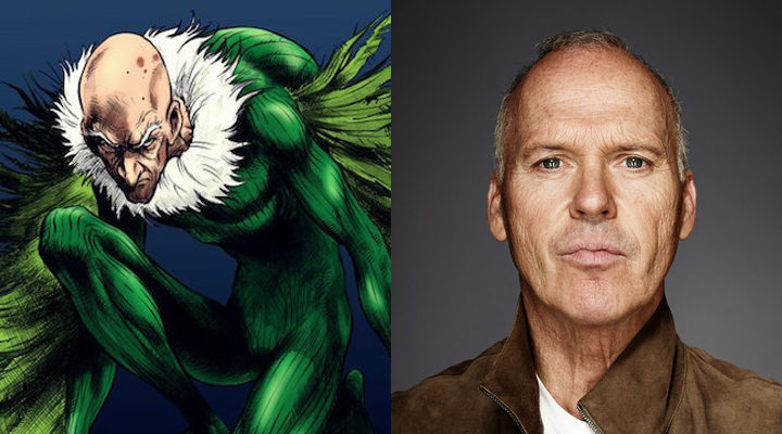 Michael Keaton y su personaje Buitre