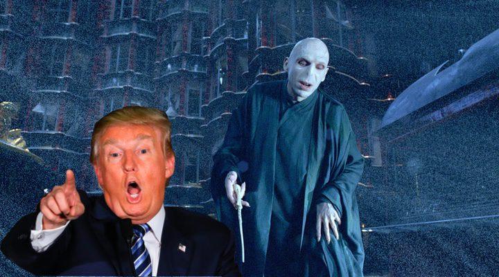 Voldemort y Donald Trump