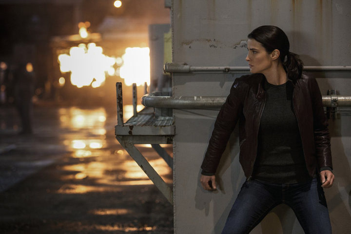 Cobie Smulders en 'Jack Reacher: Nunca Mires Atrás'