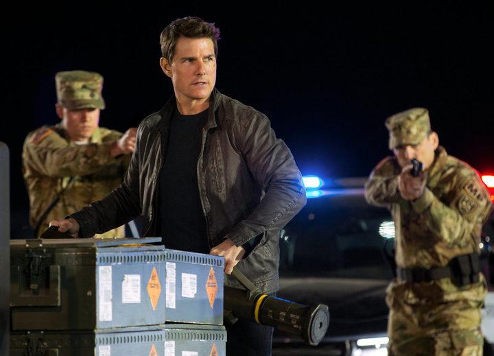 Tom Cruise como Jack Reacher