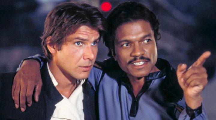 Los curtidos Lando y Han Solo
