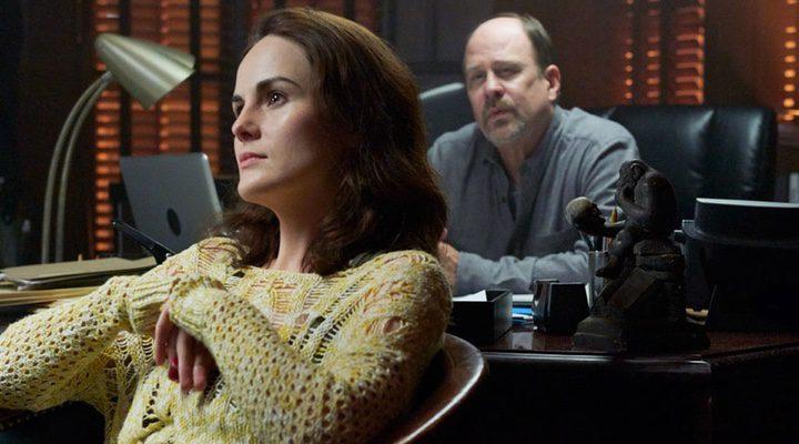 Michelle Dockery en su papel de Letty en 'Buena Conducta'