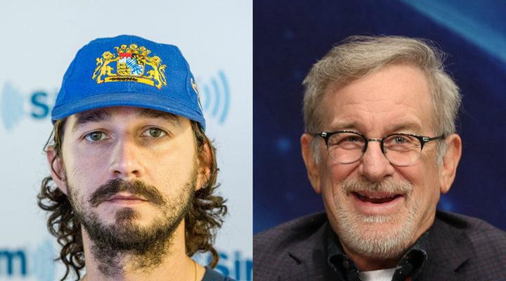 'Spielberg y LaBeouf'
